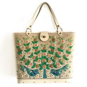 Enid Collins vintage bucket bag Money Tree